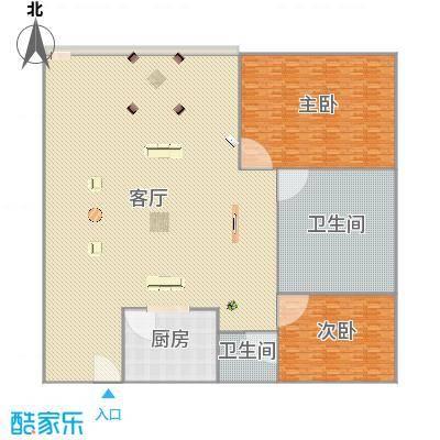 翠花苑78.68平方A4户型-副本