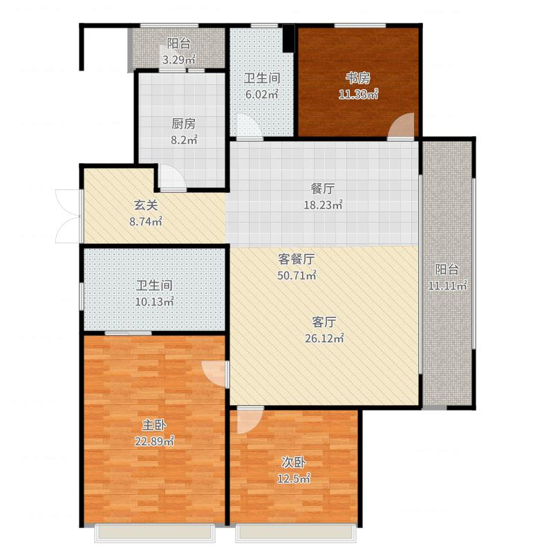 江山望府房屋结构图