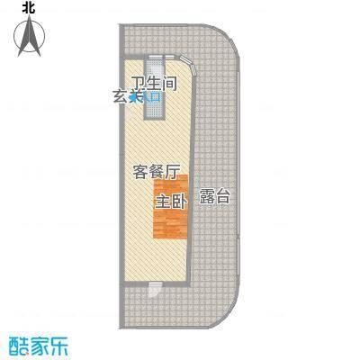 """檀悦豪生度假酒店116.00㎡""""品位巴厘""""SPA主题设计户型1室1厅1卫1厨"""