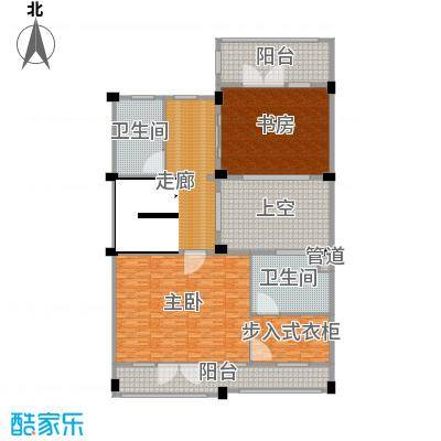 开投置业公元世家330.00㎡别墅A地上三层户型3室3厅1卫