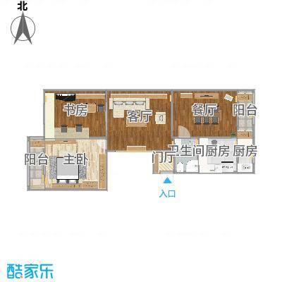 121天津居祥西里现代简约韦女士2016.10.25-平面