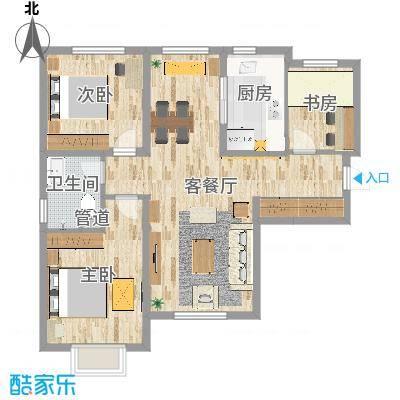 平-大连万科蓝山现代简约郑先生2016.10.31