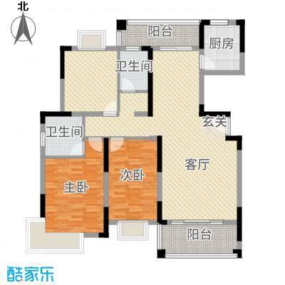 逸静园125.50㎡户型3室3厅2卫1厨