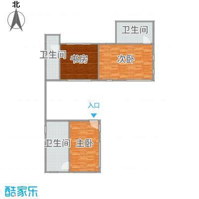 西山渡F2层     装修设计方案