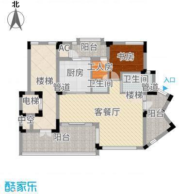 江南世家别墅江南世家别墅户型图二期半山气质B型下层户型10室-副本