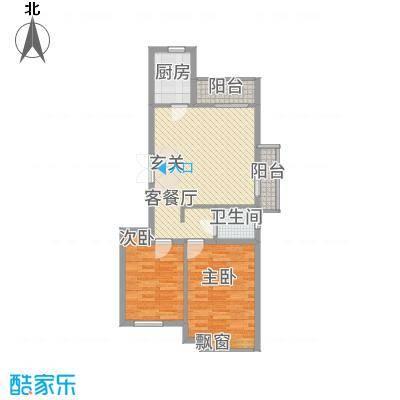 国泉城2.16㎡E3户型-副本