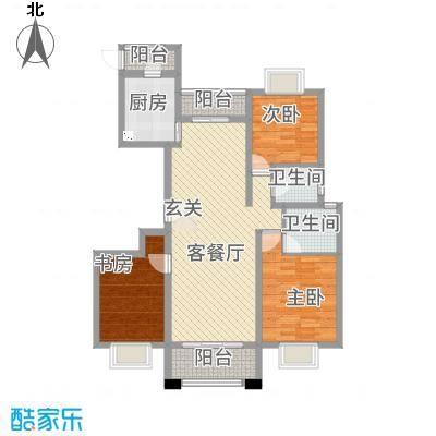 汉浦新村118.00㎡户型3室