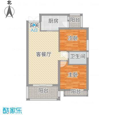军工3541社区6.00㎡户型2室-副本