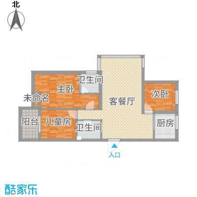 佳源广场三室两厅