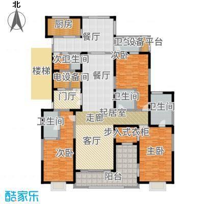 自在山E户型2室4厅3卫户型2室4厅3卫-副本