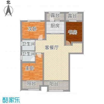 长九中心D户型129平米