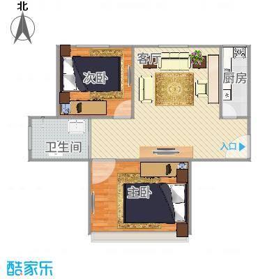 上海_三林世博家园390弄64号401室_2015-11-26-1037