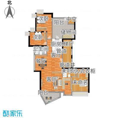 中海观园国际193.32㎡E栋2-9层02面积19332m户型-副本