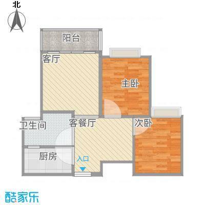 藤源名苑73方两室两厅