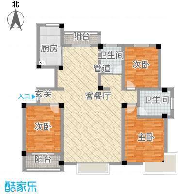 永兴花园172.64㎡时尚3户型3室2厅2卫-副本