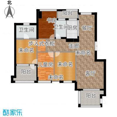 商博东城印象166.89㎡3号楼E-1户型10室