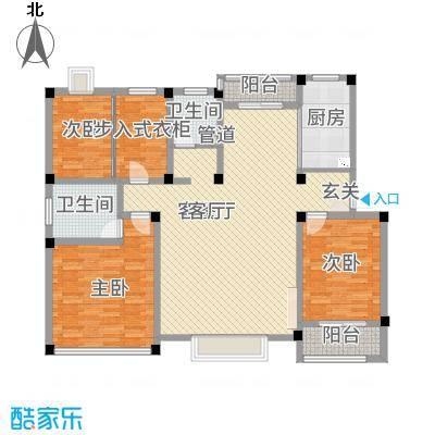 永兴花园168.61㎡时尚4户型3室2厅2卫-副本