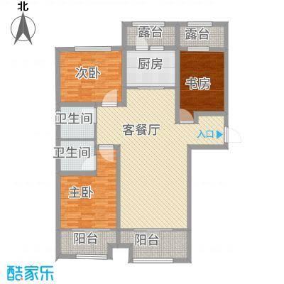 长九中心D户型129平米-副本