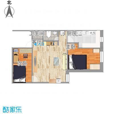 天缘公寓的户型图