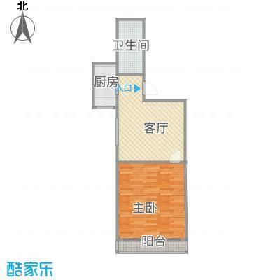上海_嘉城新航域48㎡一房_2015-11-29-1045