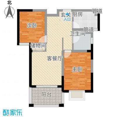 2室户型图90平.png