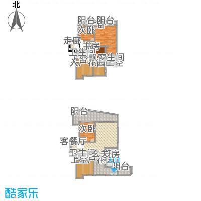 金辉帝景太原户型