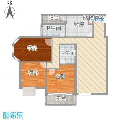 YOHO新天地138.60㎡13896户型3室2厅2卫1厨