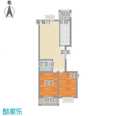 欣中绿茵苑太原户型