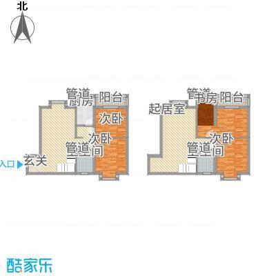 MOMA魔码二期5米4174.00㎡A5户型4室3厅2卫1厨