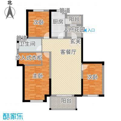 金辉城116.00㎡C5户型3室2厅1卫-副本