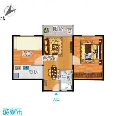 上海_佳虹小区_2015-10-16-餐厅改装版