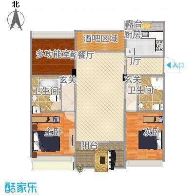 浙江_上虞130平米_2015-10-12-1410
