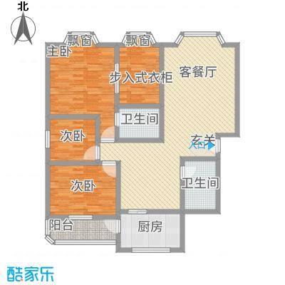 紫荆馨苑146.00㎡成都户型