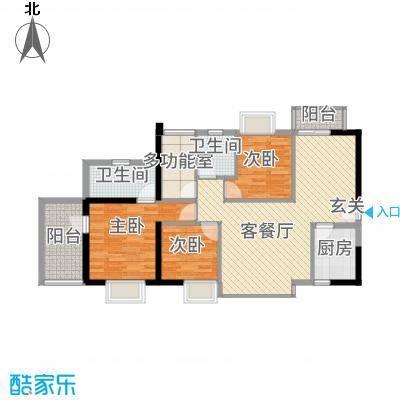 莲丰花园户型4室
