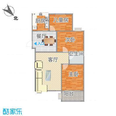 六合上城-201#1单元六楼1室