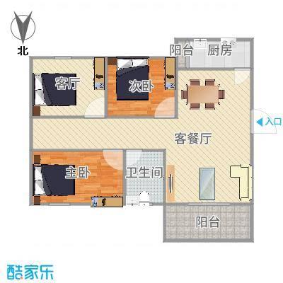 深圳_富达花园3室2厅2卫西86平方