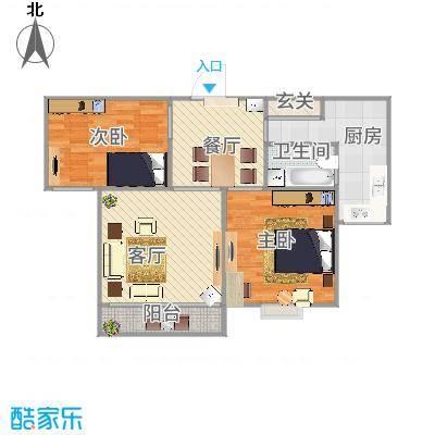 上海_丽泽菊清苑80平方