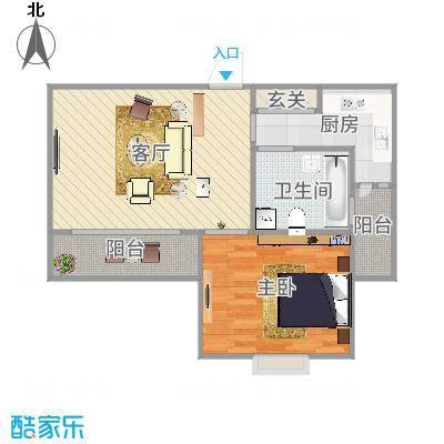 上海_丽泽菊清苑60平