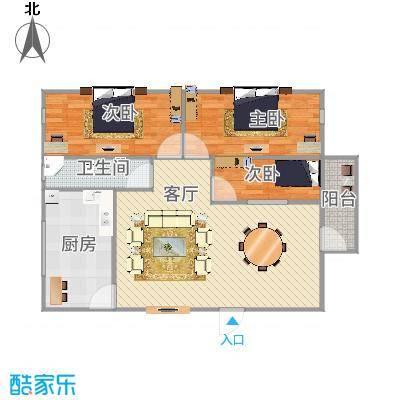 深圳_富达花园_3室1厅1卫112平方