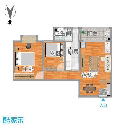 深圳_富达花园_2室1厅1卫71平方