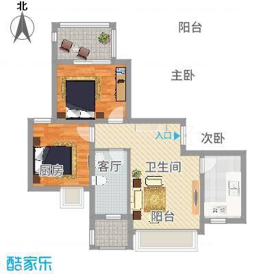 南环新村两房一厅-副本