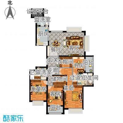 雅戈尔东海府209平米刘宅
