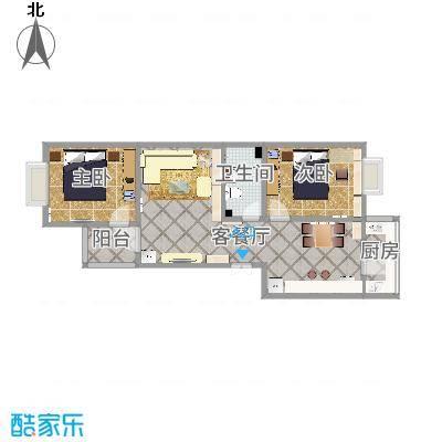 天津_巨腾公寓1-2-602_2015-10-18-1517