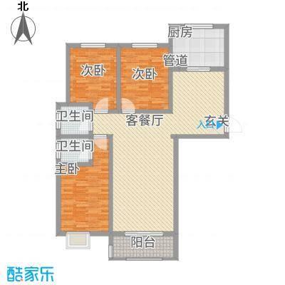 水韵江南1.20㎡楼书-1户型