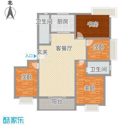 水韵江南5.20㎡楼书-5户型
