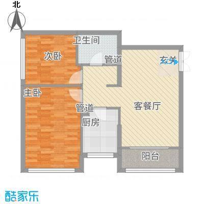 金地经典88.18㎡3-5#楼户型-副本