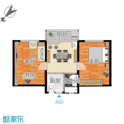上海_佳虹小区_一室两厅
