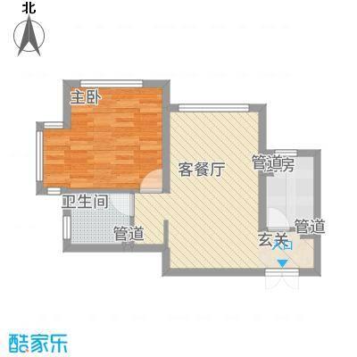 金地经典61.50㎡3-5#楼户型-副本