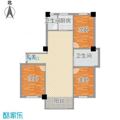 嘉利新城官邸e_1户型