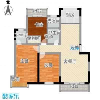 宝带新村112.00㎡宝带新村3室户型3室-副本